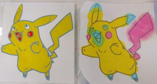 paper microfluidics - pokemon